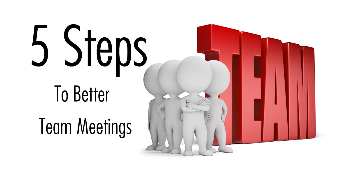 salon management tips: 5 steps to better team meetings