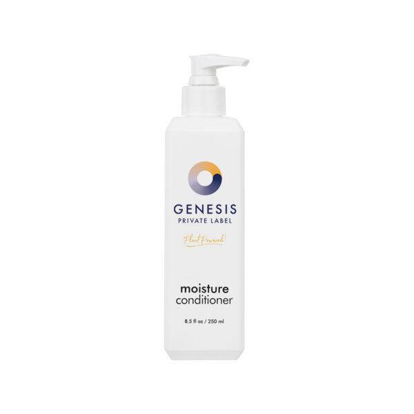 bottle of genesis private label moisturizing conditioner